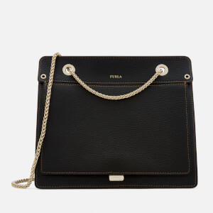 Furla Women's Like Small Chain Cross Body Bag - Black