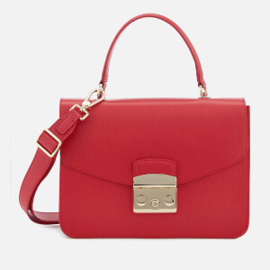 Furla Women's Metropolis Small Top Handle Bag - Ruby