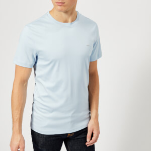 Michael Kors Men's Liquid Jersey Short Sleeve T-Shirt - Light Chambray