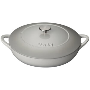 Denby Natural Canvas Cast Iron - 30cm Shallow Casserole