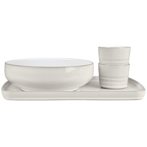 Denby Natural Canvas 4 Piece Deli/Sunday Lunch Set