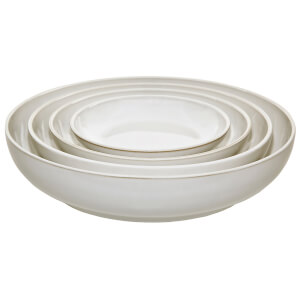 Denby Natural Canvas 4 Piece Nesting Bowl Set