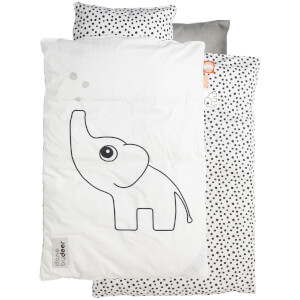 Done By Deer Bed Linen Junior Elphee - White