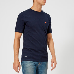 Superdry Men's Dry Originals Pocket Short Sleeve T-Shirt - Denim Blue Indigo
