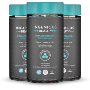 Ingenious Beauty Ultimate Collagen+ 2nd Generation (3 x 90 Capsules - Worth $178)