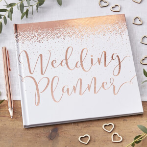 Ginger Ray Wedding Planner - Rose Gold
