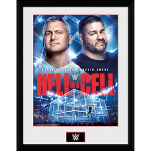 WWE Hell in a Cell 2017 12 x 16 Inches Framed Photograph
