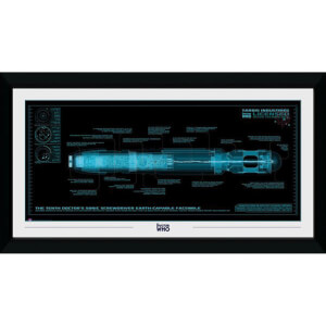 Doctor Who Sonic Screwdriver 50 x 100cm Framed Photograph