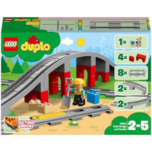LEGO DUPLO Town: Train Bridge and Tracks (10872)
