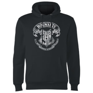 Sweat à Capuche Homme Blason Poudlard - Harry Potter - Noir