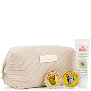 Burt's Bees Cosmetic Bag (Free Gift) (Worth £10.00)