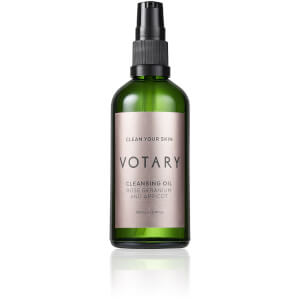 Votary Cleansing Oil Rose Geranium & Apricot