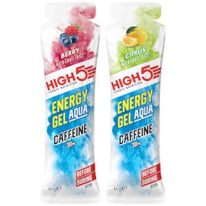 High5 Energy Gel Aqua Caffeine - Box of 20