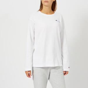 Champion Women's Long Sleeve T-Shirt - White