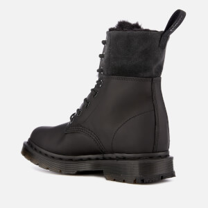 Dr. Martens Women's 1460 Kolbert Waterproof 8-Eye Boots - Black: Image 2