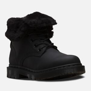 Dr. Martens Women's 1460 Kolbert Waterproof 8-Eye Boots - Black: Image 4