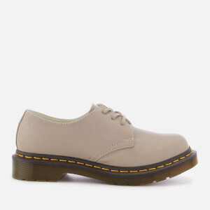 Dr. Martens Women's 1461 W Virginia Leather 3-Eye Shoes - Taupe