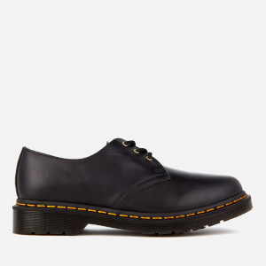 Dr. Martens Men's 1461 Aqua Glide Leather 3-Eye Shoes - DM Navy