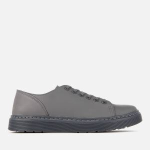 Dr. Martens Men's Dante Sendal Leather 6-Eye Shoes - Grey
