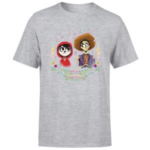 Coco Miguel And Hector Men's T-Shirt - Grey