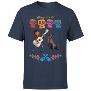 Coco Miguel Logo Men's T-Shirt - Navy