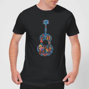 Camiseta Coco Disney Guitarra - Hombre - Negro
