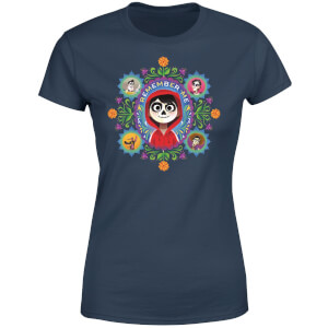 Coco Remember Me Women's T-Shirt - Navy