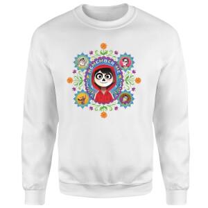 Coco Remember Me Sweatshirt - White
