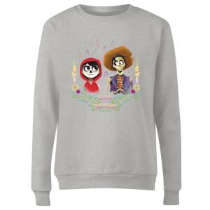 Coco Miguel And Hector Women's Sweatshirt - Grey