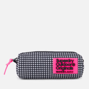 Superdry Women's Print Edition Pencil Case - Black Gingham