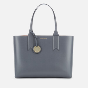 Emporio Armani Women s East West Tote Bag - Grey 5f92ba472a22a