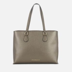 Emporio Armani Women's Shopper Bag - Gun Metal