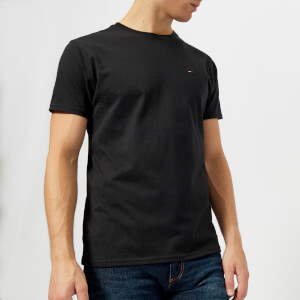 Tommy Jeans Men's Original Jersey T-Shirt - Tommy Black
