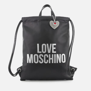 Love Moschino Women's Logo Large Tote Bag - Black
