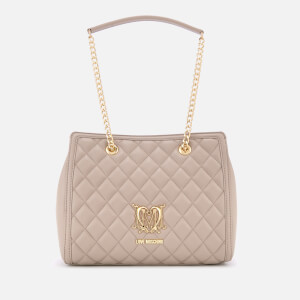 Love Moschino Women's Shoulder Bag - Tan