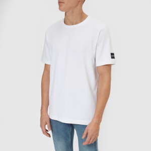 Calvin Klein Jeans Men's Authentic Cotton Multi Logo T-Shirt - Bright White
