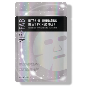 Máscara em Folha Primer Iluminadora Ultraluminosa Make Up da NIP + FAB 25 ml