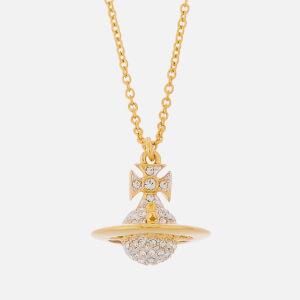 Vivienne Westwood Women's Lena Small Orb Pendant - Rhodium/Gold