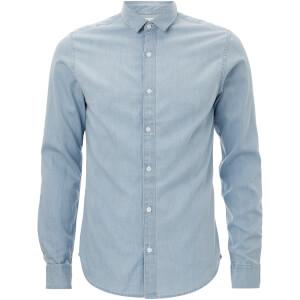 Only & Sons Men's Nevin Denim Shirt - Light Blue Denim