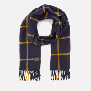 Joules Women's Bracken Soft Handle Scarf - French Navy Check