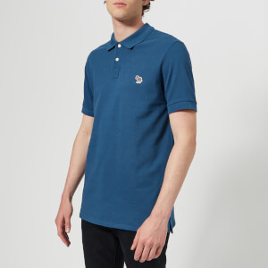PS Paul Smith Men's Regular Fit Short Sleeve Polo Shirt - Blue
