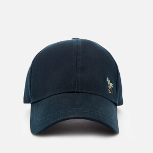 PS Paul Smith Men's Zebra Baseball Cap - Blue