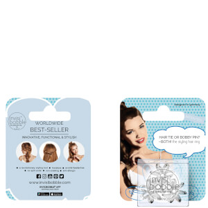 invisibobble NANO True Black Hanging Pack (Free Gift)