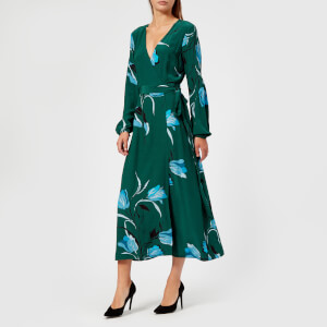 Gestuz Women's Sille Dress - Flower Green