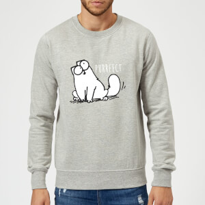 Simon's Cat Purrfect Sweatshirt - Grey