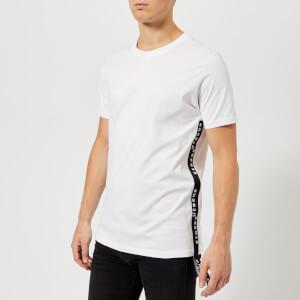 Versus Versace Men's Tape Logo T-Shirt - White