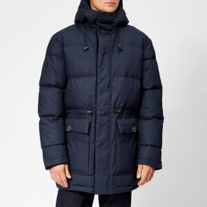 designer outlet men\u0027s and womenswear shop online at coggles  edwin men\u0027s street parka jacket navy