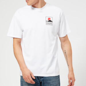 Edwin Men's Sunset On MT Fuji T-Shirt - White