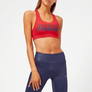 Puma Women's 4 Keeps Sports Bra - Ribbon Red