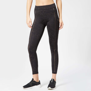 Puma Women's Explosive Avow Night Tights - Puma Black-Bronze Medal